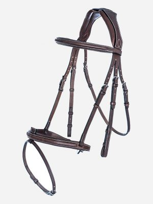 Anatomic French Noseband Bridle