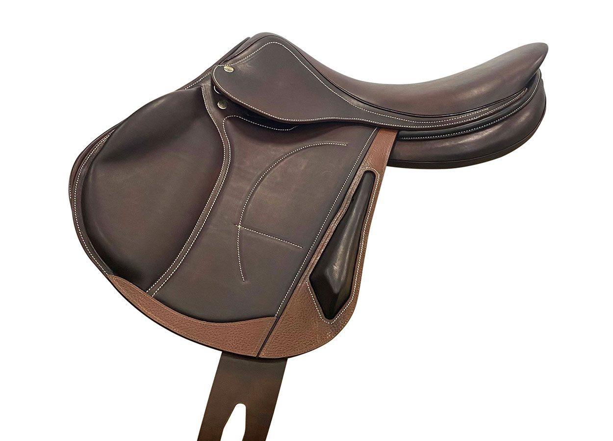 Cross country calf saddle